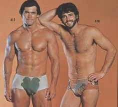 Ah Men swim trunks -#1970s. The less said about this, the better!
