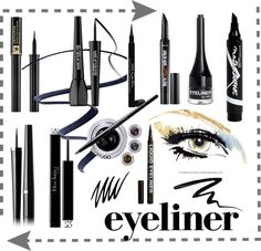 Choose your eyeliner, by Katia Creative Studio