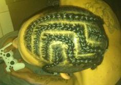 Flat braids