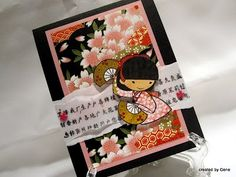 sisters stamps | Creations by Patti: Yoshimi Birthday Explosion Box  Sister Stamps available from www.SisterStamps.com