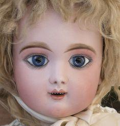 "30"" (76 cm) Rare Antique French Eden Bebe doll by Fleischmann & from respectfulbear on Ruby Lane"