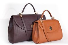 Mark Cross leather bags