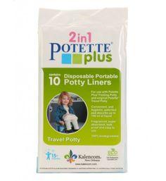 Potette Plus 10 jednorazowych wkładów do nocnika Potette
