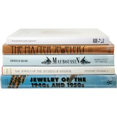 Potterton Books Jewelry Compendium ($2,250) ❤ liked on Polyvore