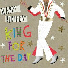 Happy BirthdayKing for a day