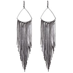 Amrita Singh Fringe Earrings ($25) ❤ liked on Polyvore featuring jewelry, earrings, multiple colors, fringe jewelry, amrita singh earrings, hook earrings, tri color earrings and colorful earrings