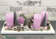 Bambi, Advent, Victoria, Wreaths, Table Decorations, Home Decor, Easter, Decoration Home, Room Decor
