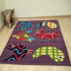 Childrens dinosaur rugs 4115 67 buy online from the rug seller uk - Arte Espina - The Playful Funky Rugs, Woodland Theme, Classroom Inspiration, Theme Ideas, Kids Rugs, Birds, Garden, Stuff To Buy, Bird