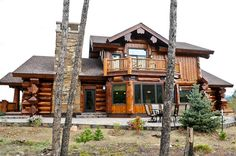 Stunning Colorado Mountain Log Home