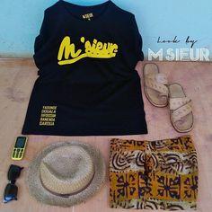 #LookByMsieur #CMRTour #Short #Wax #Africa #MadeInAfrica #MadeInCameroon #Team237