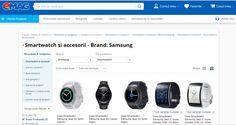 În 2016, vânzările eMAG pe segmentul wearables se vor dubla | Fulvia Meirosu Smart Watch, Shopping, Smartwatch
