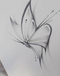 How to draw a butterfly drawing Butterfly Sketch Art Drawings Sketches Simple, Girl Drawing Sketches, Pencil Art Drawings, Beautiful Drawings, Cool Drawings, Drawing Drawing, Drawing Skills, Easy Sketches To Draw, Pencil Sketch Art