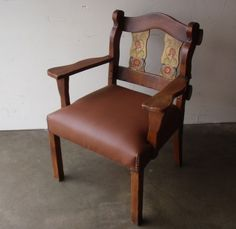 Monterey Furniture Arm Chair California Arts Crafts Mission Intenoche Era Spanish Style