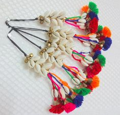 Cowrie Shell TasselPurse & Handbag by uDazzleSupplies on Etsy Handmade Jewelry Designs, Earrings Handmade, Rakhi Design, Saree Tassels, Tassel Purse, Accesorios Casual, Hand Art, Fabric Jewelry, Bead Caps