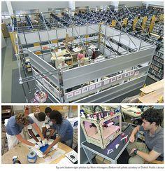 Print3d World: La bibilioteca pública de Chicago abre un espacio para la impresión 3D http://www.print3dworld.es/2013/07/la-bibilioteca-publica-de-chicago-abre-un-espacio-para-la-impresion-3d.html