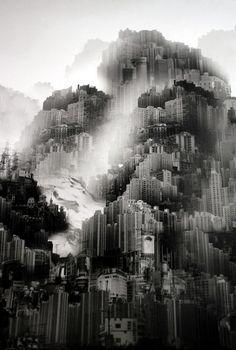 Yang Yongliang, Unknown on ArtStack #yang-yongliang-yang-yong-liang #art