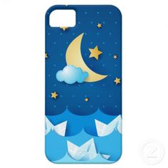 Sea at Night iPhone 5 Case by PinkHurricane  $39.95