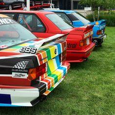 いいね!41件、コメント6件 ― Travel&Carsさん(@travel__cars)のInstagramアカウント: 「Trifecta of M3 race cars  • • • • #bmw #bmwm3 #bmwe30m3 #m3 #e30m3 #ultimatedrivingmachine…」