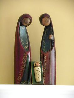 "12"" tall Nativity set"