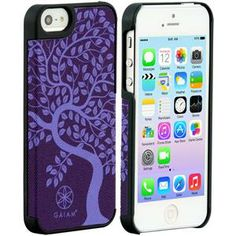 iPhone 5 Fabric Case Tree of Life Purple