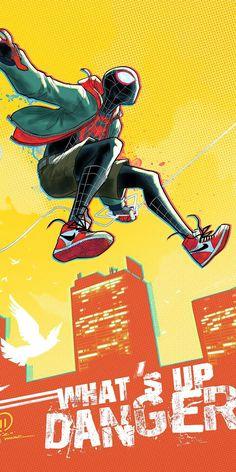 Spiderman Drawing, Spiderman Spider, Amazing Spiderman, Marvel Heroes, Marvel Avengers, Marvel Comics, Marvel Phone Wallpaper, Cartoon Wallpaper, Miles Morales Spiderman