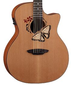 Luna Guitars - Oracle Butterfly