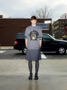 Street Life Givenchy Menswear Pre-Fall 2012 Collection (11)