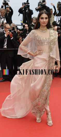 Sonam Kapoor for Loreal Paris at Cannes_2 http://www.kalkifashion.com/
