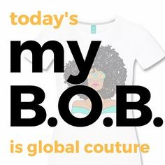 my B.O.B @globalcouture   Patricia is the Founder and CEO of the inspirational apparel and accessories line Global Couture. Her line empowers the self acceptance and self confidence of women around the world. Patricia has a Masters in Counseling Psychology and is completing her doctorate in counselor education while also being a licensed professional counselor.  Originally from Michigan Patricias business is completely online as she spends time overseas in different countries for periods of…