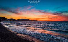 Mid-winter sunset, Ixia - Rhodes, Greece.  Φωτογραφία του Stavros Kesedakis.