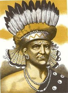 Chief Powhatan. Født: 17. juni 1545, Virginia, USA Døde: april 1618, Virginia, USA Barn: Pocahontas Søsken: Opchanacanough.