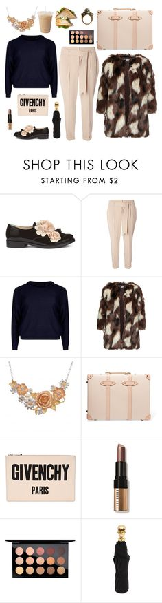"""Skulls and roses"" by queerliness ❤ liked on Polyvore featuring Pokemaoke, Dorothy Perkins, Elvi, Globe-Trotter, Givenchy, Bobbi Brown Cosmetics, MAC Cosmetics, Alexander McQueen and plussize"
