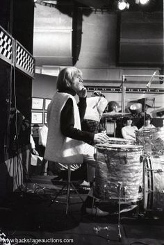 1143: The Rolling Stones 1965 Lot of 102 B/W Ready Steady Go! TV Appearance Negatives With Full Rights - Store - Backstage Auctions, Inc.