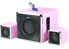 Bluetooth HiFi Lautsprechersystem mit hervorragendem Sound BT-X3 2.1 Soundst.
