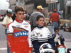 El importador de karts Genís Marcó se encargó de la financiación: proporcionaba los karts, buscaba patrocinadores o ejercía él mismo como tal, salvando la carrera deportiva de Fernando Alonso, en 1991 se proclama campeón de Asturias.