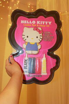 hello kitty cookie pan