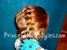 I love this whole site. How sad is it that I am actively planning to style my hair like a little girl?