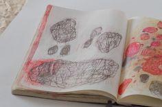Lari Washburn, sketchbook