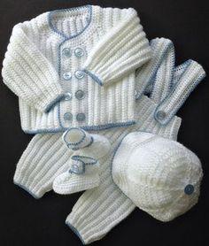 Ropa de muñecas Tejer patrón dk 3 Muñecas Reborn 8-10 por preciosos recién nacido knits