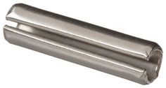 420 Stainless Steel Spring Pin, Plain Finish, Inch