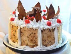 Un postre muy rendidor, que se come helado. Sus ingredientes despiertan la tentación de probarlo enseguida.