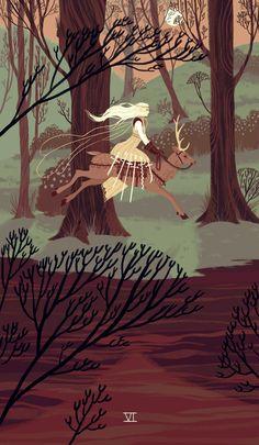 Illustration Blog — Six of Swords