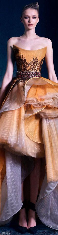 "Nicolas Jebran Couture Fall 2015 ""Nostalgia Collection"""