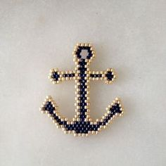 Seed Bead Crafts, Beaded Crafts, Beaded Ornaments, Beaded Earrings Patterns, Seed Bead Earrings, Beading Patterns, Miyuki Beads, Motifs Perler, Bead Loom Bracelets