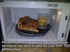 life hacks pizza