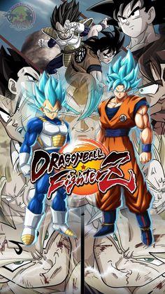 Vegeta Goku Rivals by AdeBa3388