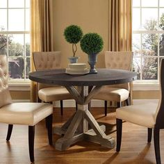Lowest price online on Modway Stitch Wood Top Dining Table in Brown - Decor, Modern Dining, Dining Table, Tuscan Decorating, Mediterranean Home Decor, Dining Room Decor, Rustic Farmhouse Dining Table, Dining Room Table, Industrial Modern Dining Table