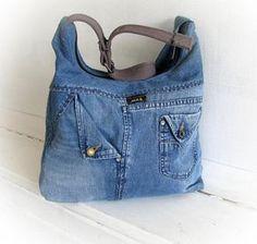 Mensajero de jeans bolso bandolera Denim mezclilla Pathwork