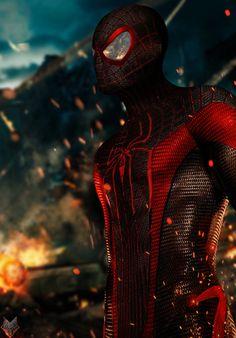 #Ultimate #Spiderman #Miles #Morales. (Miles Morales- Ultimate Spider-Man) By: Spidermonkey23. (THE * 5 * STÅR * ÅWARD * OF: * AW YEAH, IT'S MAJOR ÅWESOMENESS!!!™)[THANK Ü 4 PINNING<·><]<©>ÅÅÅ+(OB4E)