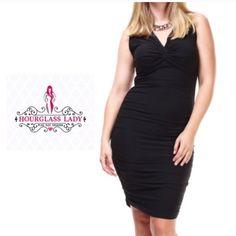 Plus Size Black Bodycon Dress